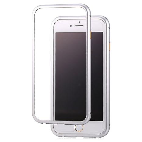 Bandmax iPhone 6/6S Funda Magnética Bodyguard Edge Antiarañazos Aluminio Bumper Duro Carcasa Protectora para