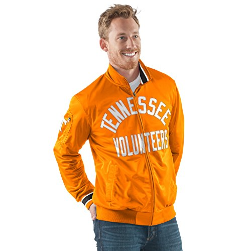 NCAA Tennessee Volunteers Men's Contender Full Zip Track Jacket, Large, - Volunteers Jacket Tennessee