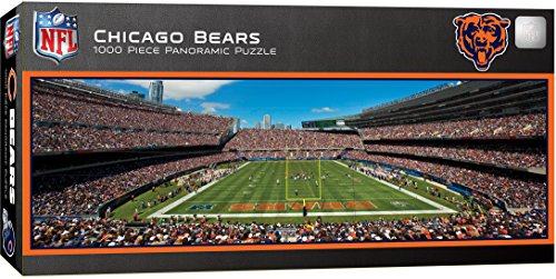 MasterPieces NFL Chicago Bears 1000 Piece Stadium Panoramic Jigsaw Puzzle