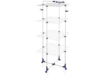 Leifheit 6643-Tendedero Tower 450, Metal, 68.5x6.5x171.5 cm: Amazon.es: Hogar