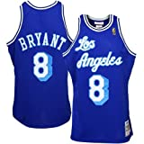 NBA Los Angeles Lakers #8 Kobe Bryant Royal Blue 1996-97 Anniversary Basketball Replica Jersey (48)