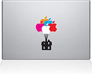 "The Decal Guru 1062-MAC-11A-DB Up House MacBook Decal Vinyl Sticker - 12"" MacBook"