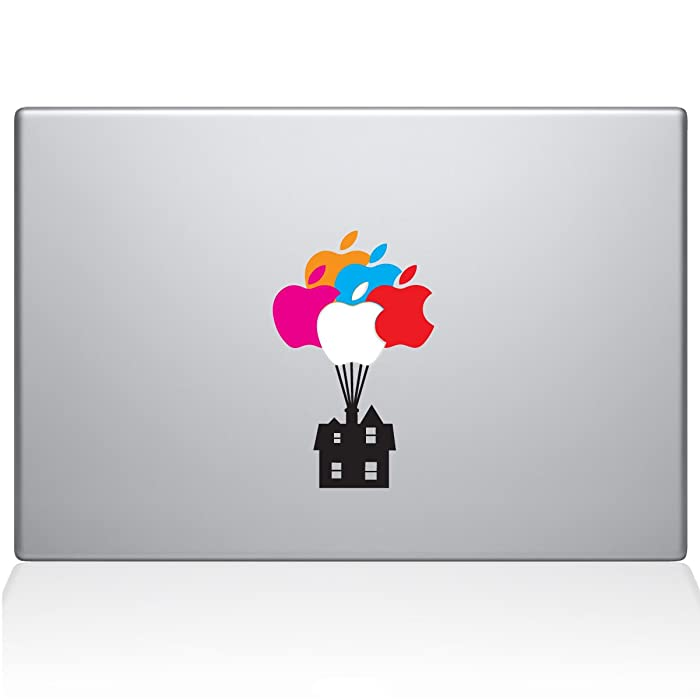 "The Decal Guru 1062-MAC-11A-LG Up House MacBook Decal Vinyl Sticker - 13"" MacBook Pro (2015 & Older)"