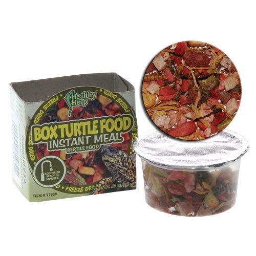 San Francisco Bay Brand SSF71930 0.07-Ounce Healty Herp Box Turtle Mix Instant Meal, Small