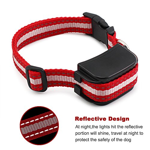 Extra Replacement Receiver Collar for PET998DRB 998DRB Training Collar for Small/Medium/Large Dogs, Rechargeable and Waterproof Remote E-Collar 330 yd with Safe Beep/Vibration/Shock Electronic Collar