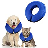 YangXu Protective Inflatable Collar for Dogs and Cats Protective Collar After Surgery Pet Recovery Collar Perfect to Prevent Pets from Biting Scratching at Injuries Collar