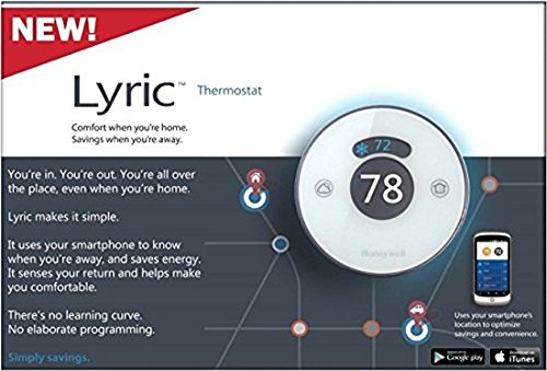 Honeywell TH8732WF5018 Lyric WiFi-Enabled Thermostat by Honeywell: Amazon.es: Bricolaje y herramientas