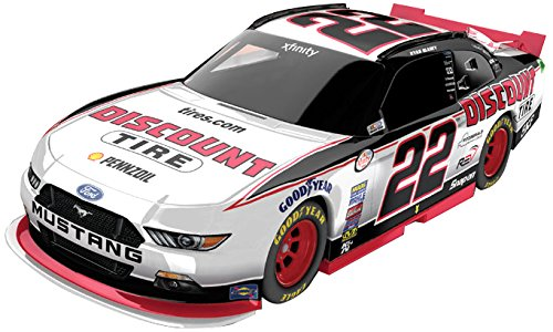 64 Scale Diecast Series (Lionel Racing Ryan Blaney #22 Discount Tire 2017 Ford Mustang 1:64 Scale ARC HT Official Diecast of the NASCAR Xfinity Series.)