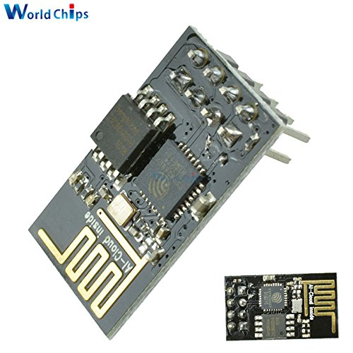 50PCS Upgraded version ESP-01 ESP8266 serial WIFI wireless module wireless transceiver by Aigh Auality shop