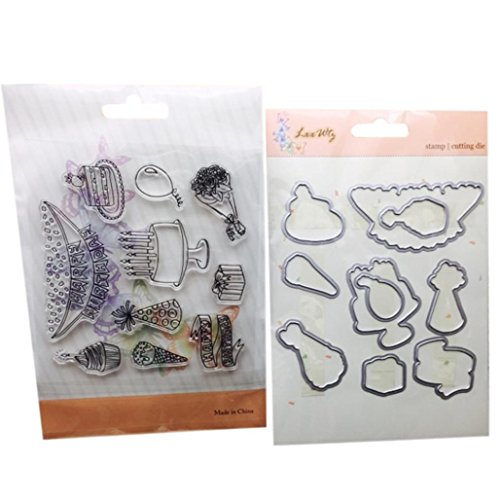 Price comparison product image  Ninasill  Metal Cutting Dies Stamp Stencils DIY Scrapbooking Photo Album Decor Embossing (J)