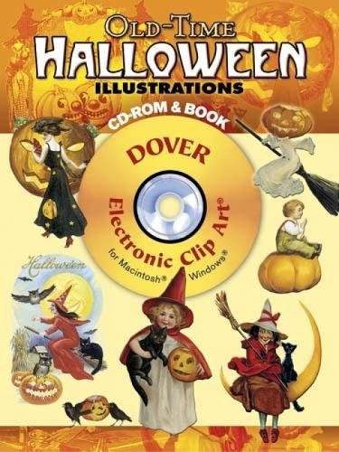 Old-Time Halloween Illustrations CD-ROM and Book (Dover Electronic Clip Art)]()