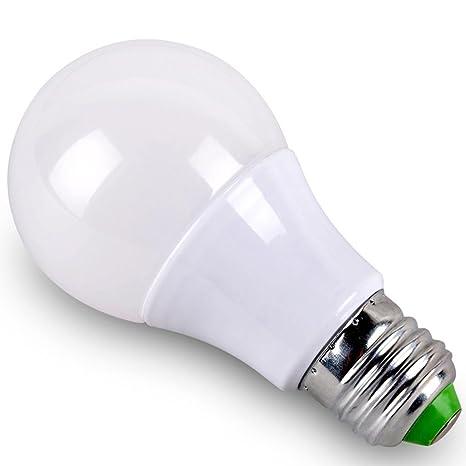 MNII E27 LED Screw boca bombillas 3W-18W Equivalente blanco (3000K) bombilla de
