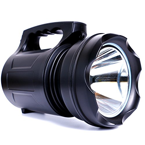 YOMER High-power Super Bright LED Rechargable Portable Searchlight...