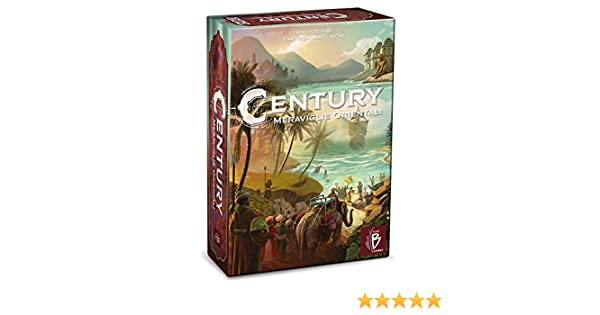 Asmodee Century Maravillas Orientales Juego de Mesa edición Italiana, Color PBG40030IT: Amazon.es: Juguetes y juegos