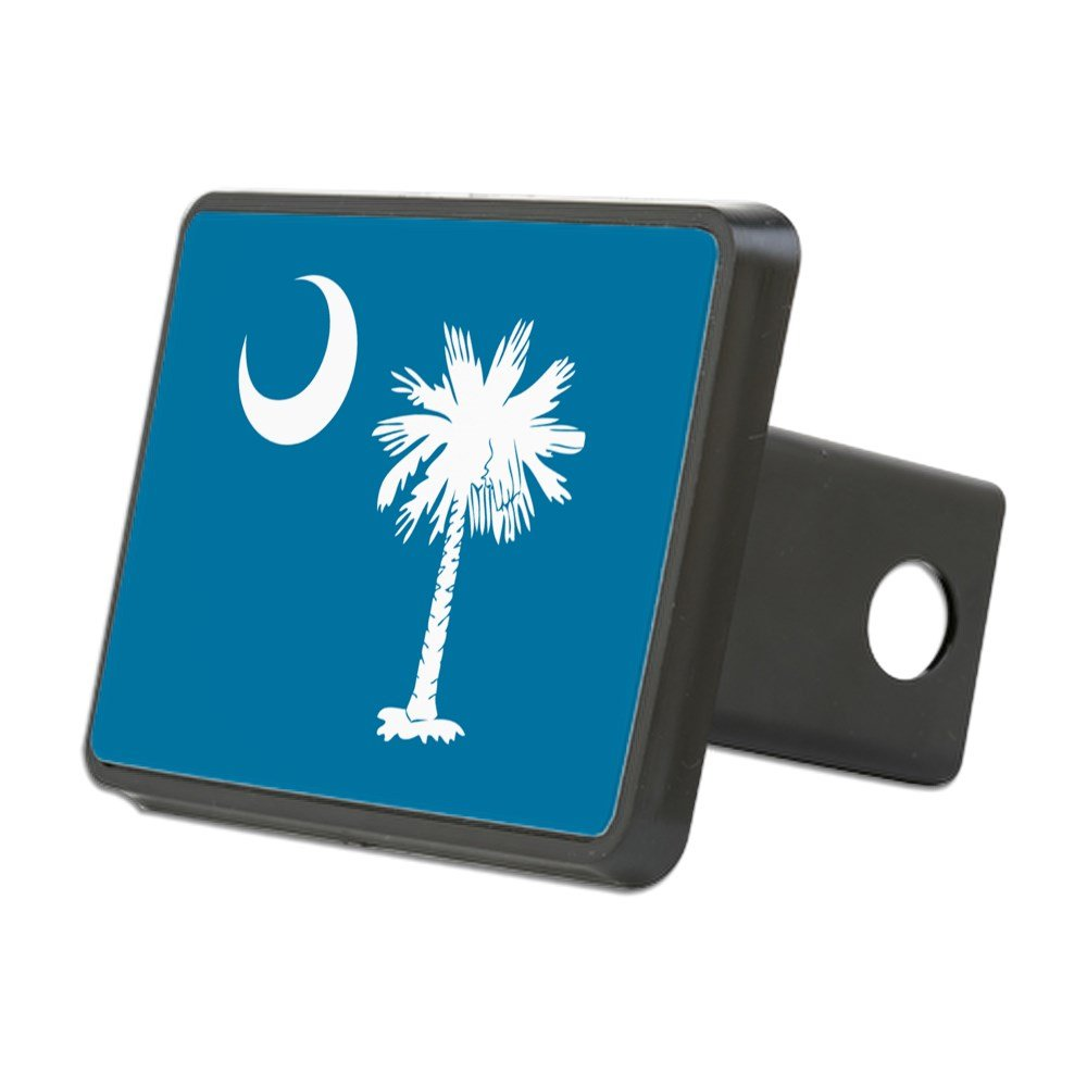 CafePress - SC Palmetto Moon - Trailer Hitch Cover, Truck Receiver Hitch Plug Insert by CafePress