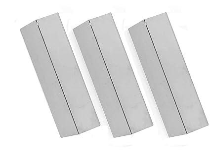 Amazon.com: 3 Pack Calor placa de acero inoxidable para ...