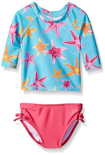 Nautica Sportswear Girls Print Rashguard