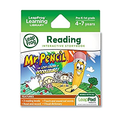 LeapFrog LeapPad Ultra eBook Mr. Pencil (works with all LeapPad tablets)