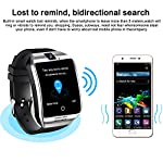 AMENON Business Smart Watch Phone – [Free SIM Card + 8GB TF ] Touchscreen Unlocked Smartwatch for Men Women Cell Phone Watch with Sync Function Music Player Camera Smartphone for Back to School Gift