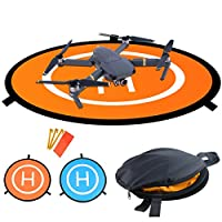 Drones Landing Pad?Homga Universal Waterproof D 75cm/30'' Portable Foldable Landing Pads for RC Drones Helicopter, PVB Drones, DJI Mavic Pro Phantom 2/3/4/ Pro, Antel Robotic, 3DR Solo
