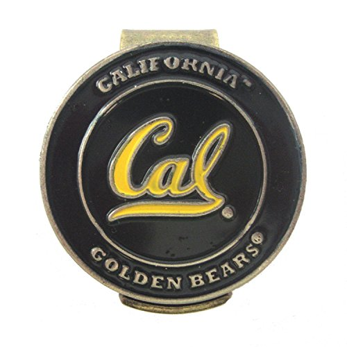 - Waggle Pro Shop California Bears Golf Hat Clip with Cal Berkeley Double-Sided Ball Marker