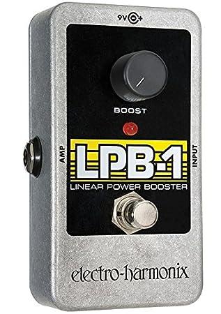 electro-harmonix LPB-1 - Pedal de distorsión para guitarra, color plateado: Amazon.es: Instrumentos musicales