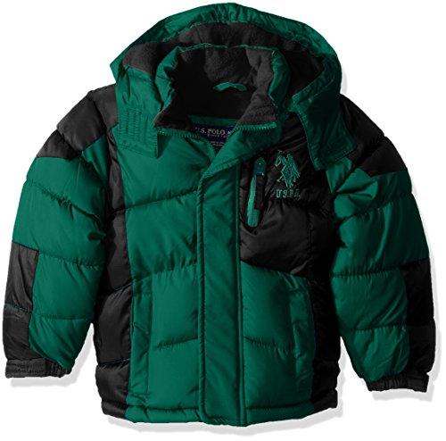 us-polo-assn-boys-little-boys-hooded-bubble-jacket-green-green-logo-7
