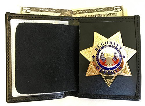Hero's Pride Bi-Fold Recessed 7 pt Star Wallet CDCR ()