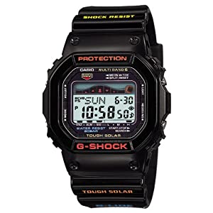 511BIsrtwpL. SS300  - Casio Men's GWX-5600-1JF G-Shock G-Lide Tough Solar Radio Controlled Watch [Japan Import]