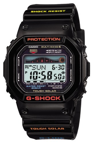 - Casio Men's GWX-5600-1JF G-Shock G-Lide Tough Solar Radio Controlled Watch [Japan Import]