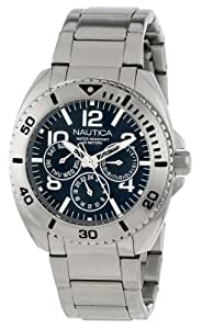 Nautica Men's N11605G Classic Analog Multi-Function Dive Watch
