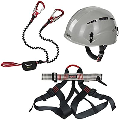 Unbekannt Alpidex Casco de Escalada Argali + Alpidex Klettergurt ...