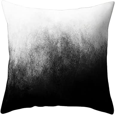 Marble Texture Pillowcase Livingroom Sofa Couch Cushion Car Waist Home Decor