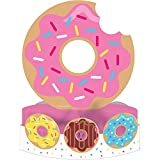 Creative Converting 324235 Centerpiece Decorations, Donut Time, Pack of 6