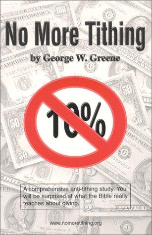 Download No More Tithing pdf epub