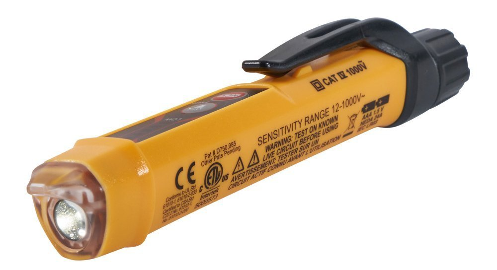 Non-Contact Voltage Tester with Flashlight Klein Tools NCVT-3 by Klein Tools (Image #6)