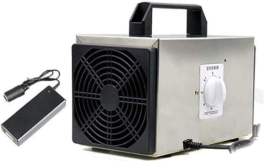 LIUTAO Generador de ozono para Coche 10000mg Industrial O3 Purificador de Aire Desodorante Esterilizador con Enchufe y Adaptador para automóvil: Amazon.es: Hogar