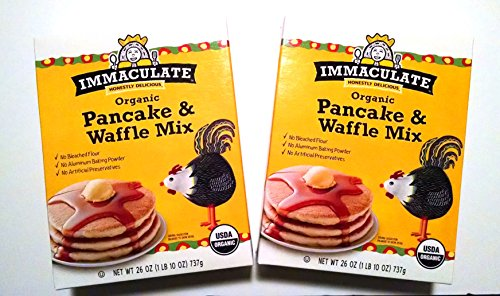 Immaculate Organic Pancake & Waffle Mix (Two, 26 oz (Candies Womens Discount Fragrance)
