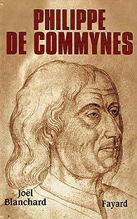 Philippe de Commynes par Joël Blanchard