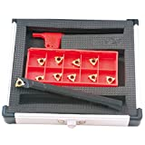 HHIP 2302-1625 Internal Indexable Threading Tool Holder and Insert Kit, 5/8''