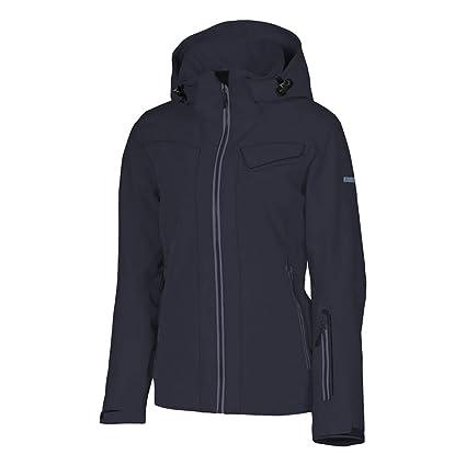 765852979c KARBON South Womens Insulated Ski Jacket - 12 Black-Charcoal-Black-Charcoal