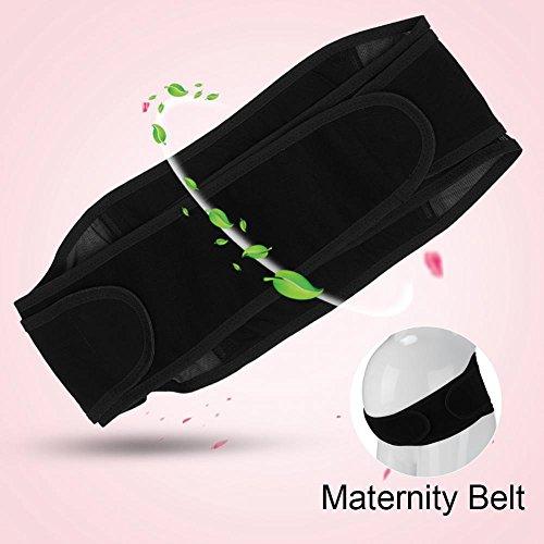 incinta corsetto prenatale Fasciatura Beige Donna Supporto Zerodis Nero Cintura Postpartum maternità Shapewear ZqwXntg