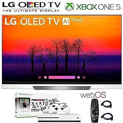 Amazon com: LG OLED55E8 Class E8 OLED 4K HDR AI Smart TV OLED55E8