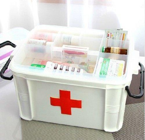 Zehui Medicine Storage Box Multilayer/medicine Cabinet 332419cm by Zehui