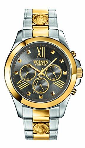 Versus by Versace Men's 'CHRONO LION' Quartz Stainless Steel Casual Watch, Color:Two Tone (Model: - Versus Versace Men