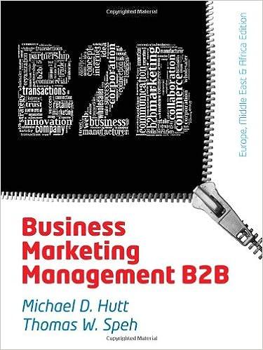 Book Business Marketing Management: B2B, EMEA Edition