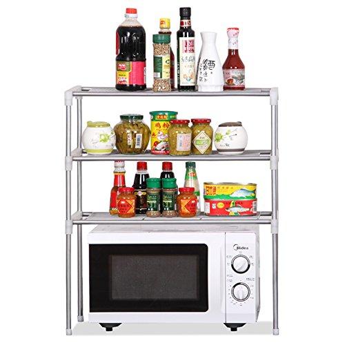 best Saleable floor stand/iron kitchen bathroom shelf/partition racks/shelf -A