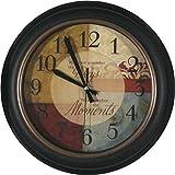 Muktat_ allen roth 61435 allen + roth Analog Round Indoor Wall Clock Clocks Home