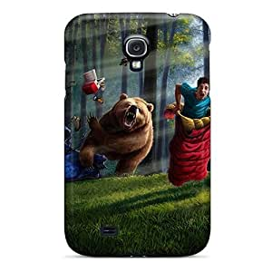 Slim Fit Tpu Protector Shock Absorbent Bumper D Graphics Fantasy Race Case For Galaxy S4