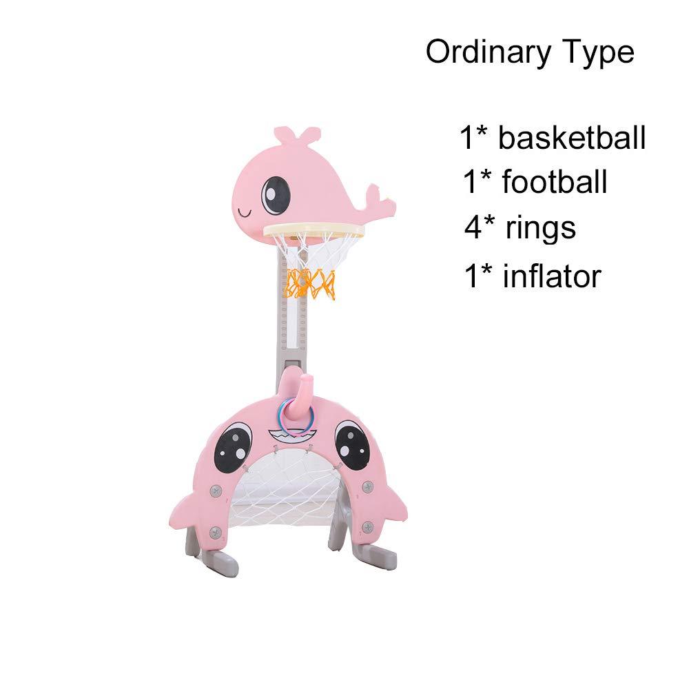 C&NN 3 in 1 Sport - Canasta de Baloncesto para niños: Amazon.es: Hogar
